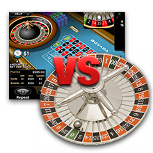 Online and offline roulette