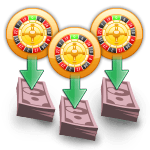 Payouts for Multi Wheel Roulette